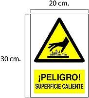 CARTEL PELIGRO SUPERFICIE CALIENTE | ADVERTENCIA PELIGRO ...