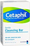 Cetaphil Gentle Cleansing Bar for Dry/Sensitive Skin 4.50 oz (Pack of 12)