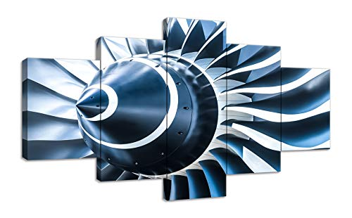 Propeller Wall Art Airplane Jet Engine Decor Turbine for sale  Delivered anywhere in USA