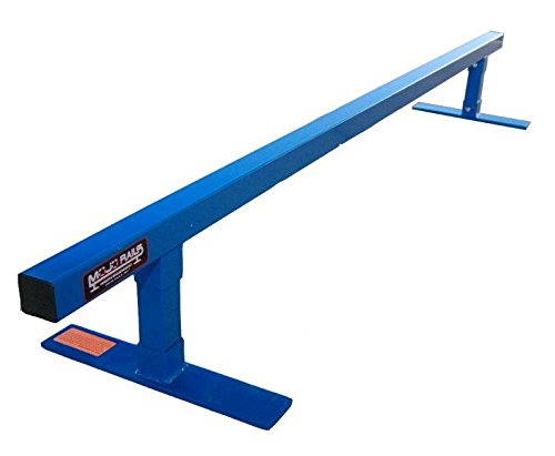 Mojo Square Grind Rail, Blue (Grind Rail Small Skateboard)