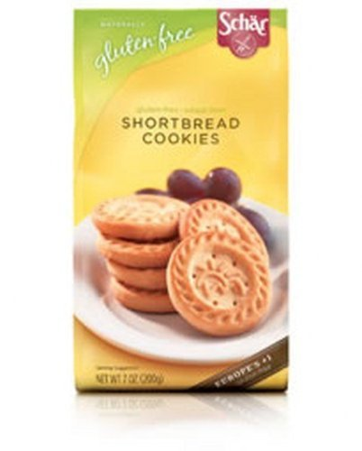 Schar Gluten Free Shortbread Cookies - 7 Oz (Pack of 12) by Schar