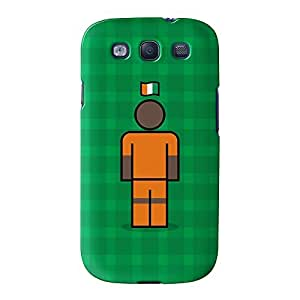 Ivory Coast Full Wrap High Quality 3D Printed Case for Samsung? Galaxy S3 by Blunt Football International + FREE Crystal Clear Screen Protector