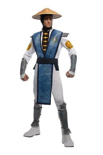 Raiden Costumes (Men's Mortal Kombat Raiden Costume by Rubies)