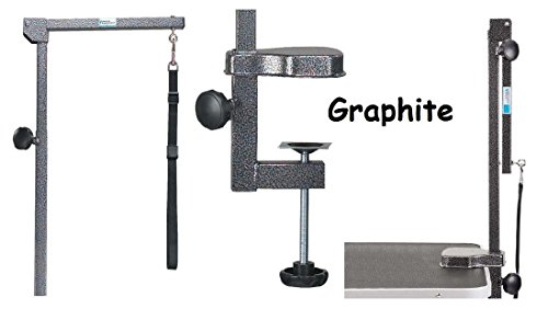 Professional Equipment Foldable Grooming Arms Avaliable in 3 colors(Graphite) ()