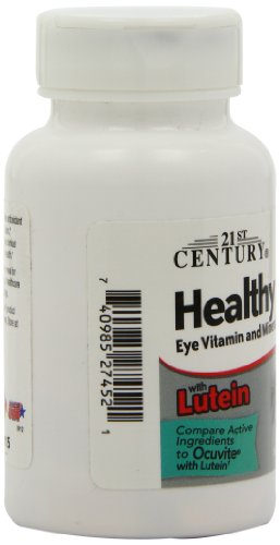 21st Century Healthy Eyes with Lutein Tablets, 60 Count by 21st Century (Image #5)