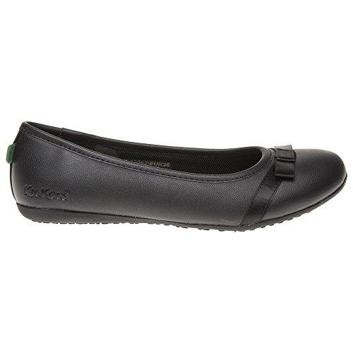 Kickers Verda Bow Femme Chaussures Noir