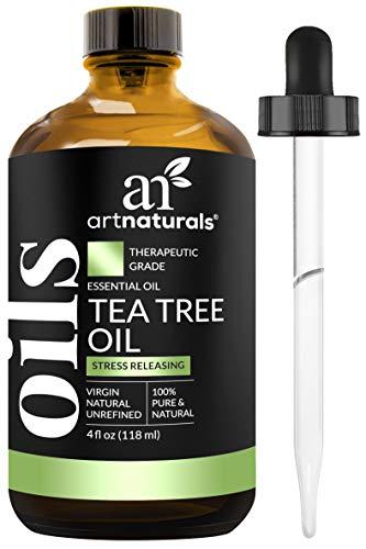 ArtNaturals 100% Pure Tea Tree Essential Oil - (4 Fl Oz/120ml) - Natural Premium Melaleuca Therapeutic Grade - Great with Soap and Shampoo, Face and Body Wash - Treatment for Acne, Lice by ArtNaturals (Image #9)