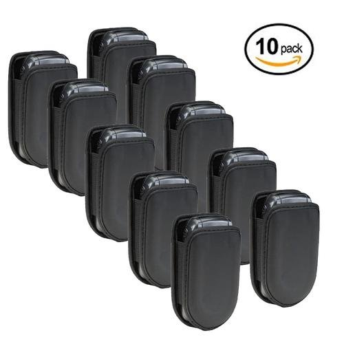 MobileVision Universal Flip Phone Case (BUNDLE PACK) - 10 Cases Included by MobileVision