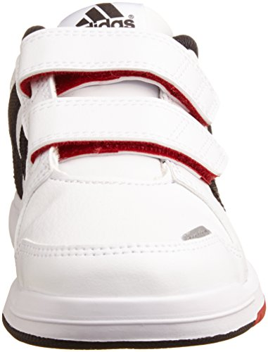 adidas LK Trainer 6 CF K - Zapatillas para niño Blanco / Azul / Rojo