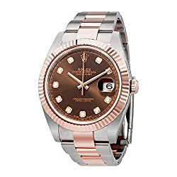 Rolex Datejust Everose Gold Oyster Men's Watch