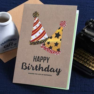 Tarjeta Regalo BLTLYX Vintage Cumpleaños Tarjetas De ...