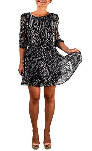 Zebra Print Smock Dress - 4