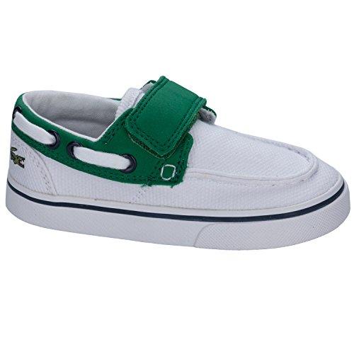Lacoste - Zapatillas para niño verde/blanco