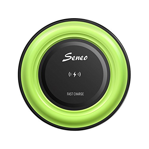 best Wireless Charger, Seneo Fast Wireless Charger QI Adjustable