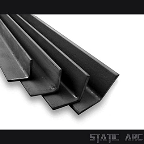 MILD STEEL EQUAL ANGLE BAR METAL SECTION 3-5mm THICK / 13-50mm WIDTH ALL SIZES (3x13x13mm) Generic