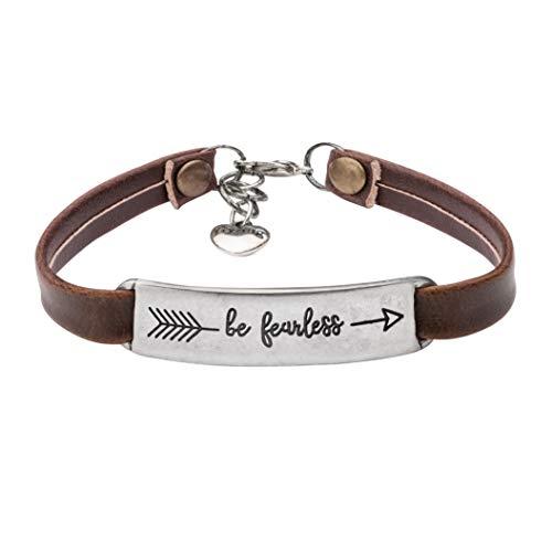 UNQJRY Graduation Gift Birthday Jewelry Christmas Bracelets Motivational Bangle Charm for GirlsBe -