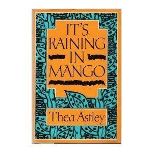 book cover of It\'s Raining in Mango