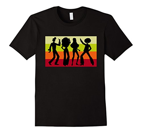 70s Outfits For Men - Mens Retro Disco Dancing Shirt - Disco Dancer Gift for 70s 3XL Black