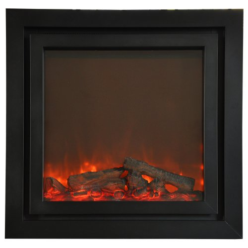 Yosemite Home Decor Ares Double Surround Electric Fireplace