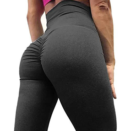 SEASUM Women Scrunch Butt Yoga Pants Leggings High Waist