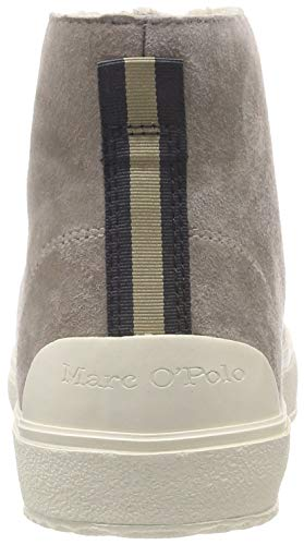 Baskets Femme Sneaker Beige 717 Hautes Marc O'polo taupe vw1fxqCCE