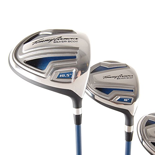 Tommy Armour Silver Scot Mens Complete Set - Driver 3W 4H 5H 6-PW,SW + Putter
