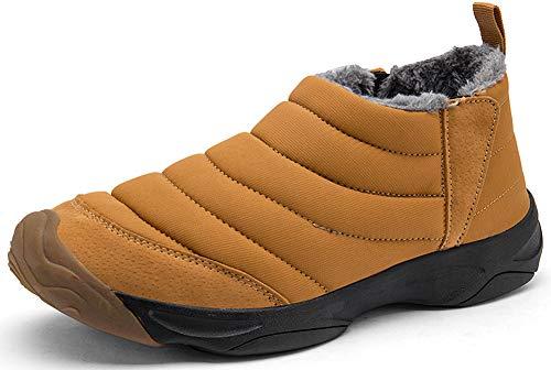 Yellow Shoes on Ladies Yooeen Snow for Fur Lined Women Boots Boots Men Slip Shoes Warm Outdoor Waterproof Walking Winter TT7Uzq