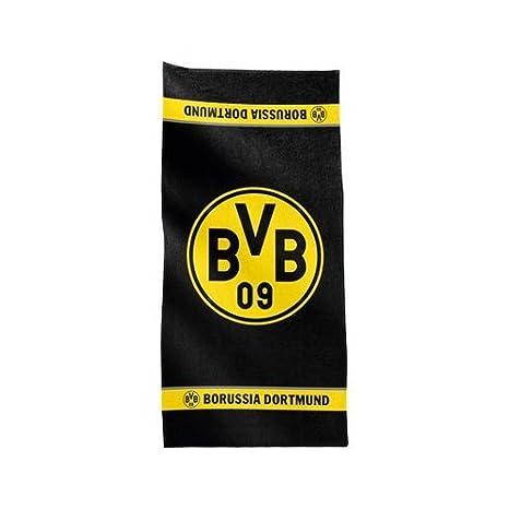 BVB Borussia Dortmund Duschtuch Hell//Dunkel Logo Fanartikel