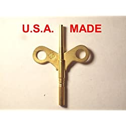 Seth Thomas Trademark Clock Winding Key Double End #6/0000