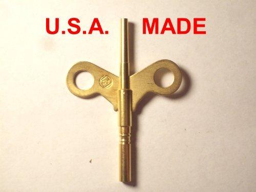 Seth Thomas Trademark Clock Winding Key Double End #6/0000