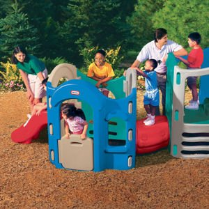 Little Tikes 8-in-1 Adjustable Playground (Colors May Vary) by Little Tikes