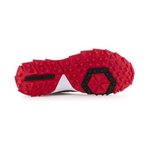 Boombah Womens Squadron Turf Shoes - 14 Opzioni Di Colore - Più Dimensioni Nero / Rosso