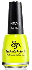 Salon Perfect Professional Nail Lacquer 508 Yowza Yellow 5 Oz