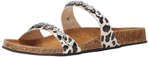 Women's Dress Callisto Leopard Princess Sandal XzBq06