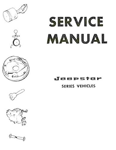 1966 1967 1968 1969 1970 1971 1972 1973 JEEPSTER REPAIR SHOP & SERVICE MANUAL - Includes Commando