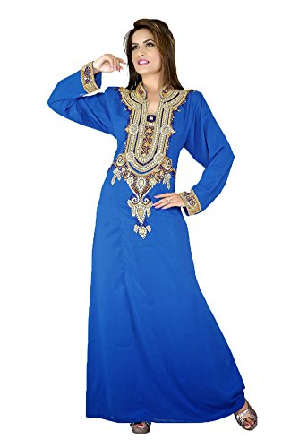 PalasFashion Motif Indian Kaftans KKPF17134 femmes