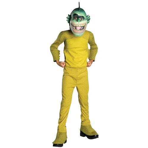 Monsters vs Aliens Deluxe Missing Link Costume - Small]()