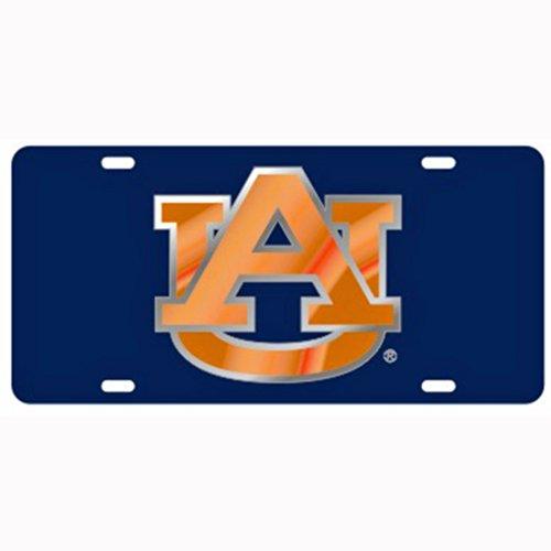 Craftique Auburn Tigers Navy Laser Cut License Plate ()