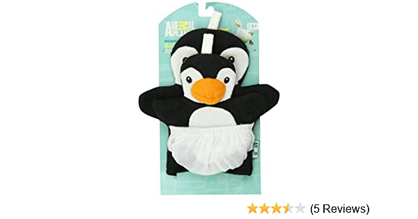 Amazon.com : Animal Planet Mommy and Baby Wash Mitts, Penguin : Baby Washcloths : Baby