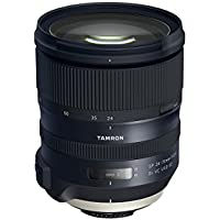 Tamron SP 24-70mm f/2.8 Di VC USD G2 Lens for Nikon DSLRs - Bundle With 82mm Filter Kit, Datacolor AF Calibration Aid, FocusShifter DSLR Follow Focus, Peak Lens Changing Kit Adapter, And More