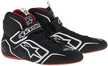 Black//White//Orange 5 Alpinestars Mens Tech-1 T Auto Racing Shoe