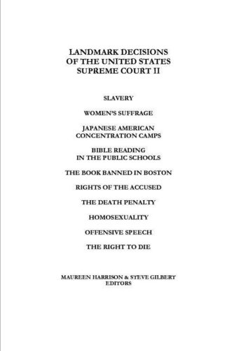 Landmark Decisions of the United States Supreme Court II (Landmark Decisions Of The United States Supreme Court)