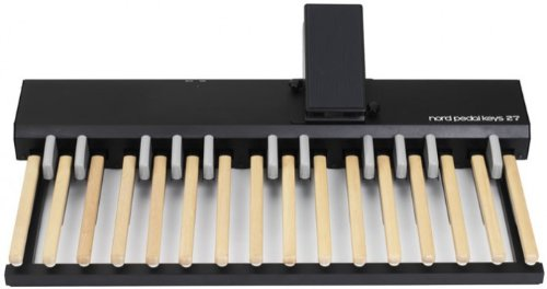 Nord Pedal Keys 27 Midi Pedal Board with Integrated Swell Pedal for use with Nord C2 Organ from Nord