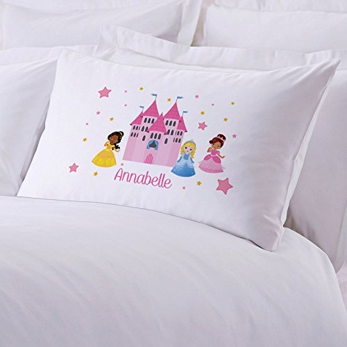 Personalized Direct Personalized Princess Castle Pillow Case Measures 20 in. X 30 in.