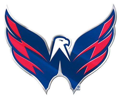 Team ProMark Washington Capitals Silver Auto Emblem (Best Outlets In Washington Dc)