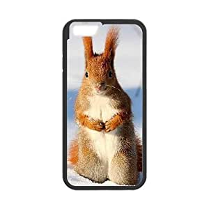 """ALICASE Diy Hard Cover Case Of Squirrel for iPhone 6 (4.7"""") [Pattern-1]"""