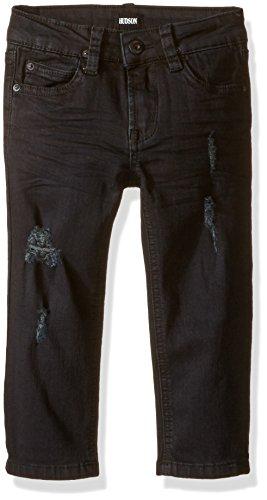 Hudson Jeans Big Boys' Parker Straight Five Pocket Jeans, Stallion, 12