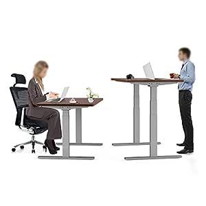 aimezo Motor doble elevación eléctrica escritorio de pie con ...