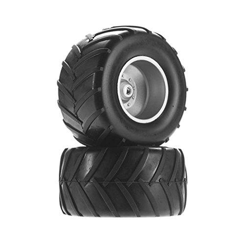 Tires Monster Truck Mt (Dromida C1196 Wheel/Tire Left/Right Assembled MT V2 (2) DIDC1196)