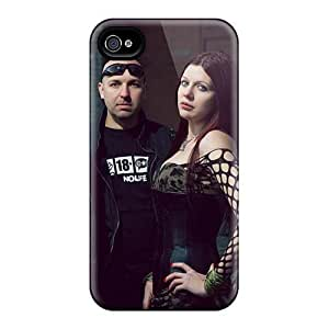 Protector Hard Phone Case For Iphone 4/4s With Custom Realistic Lullacry Band Series KevinCormack